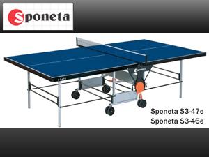 Sponeta S3-46e Tischtennisplatte Outdoor